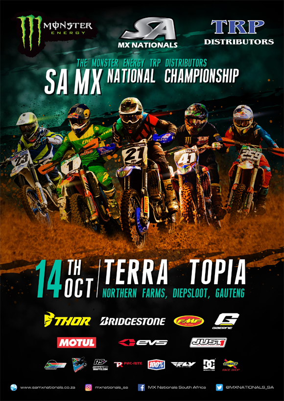 The final round of the 2017 South African Motocross Nationals heads to Terra Topia