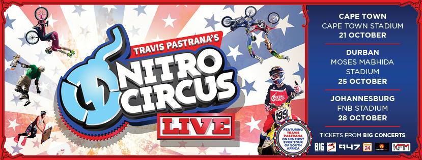 Get your tickets for Nitro Circus Live SA Tour