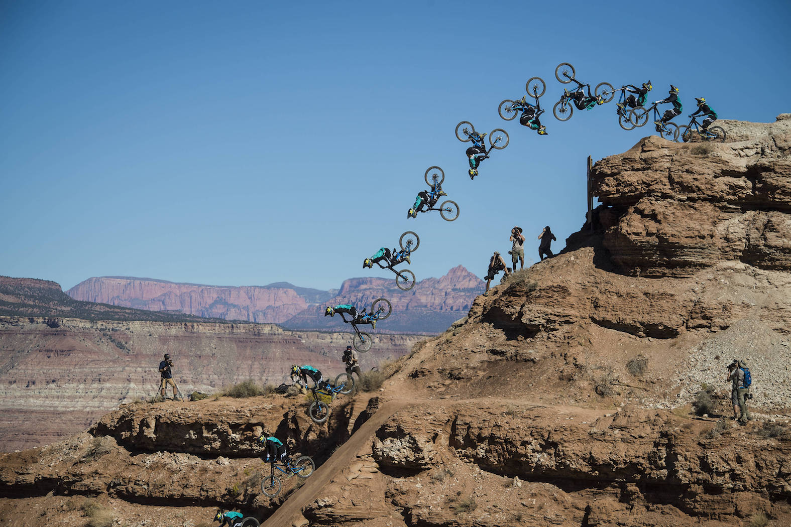 Kurt Sorge winning Red Bull Rampage for the third time