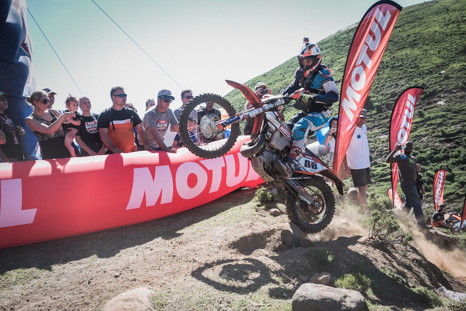 The Motul Roof of Africa is the final round of the 2017 Red Bull Hard Enduro Series