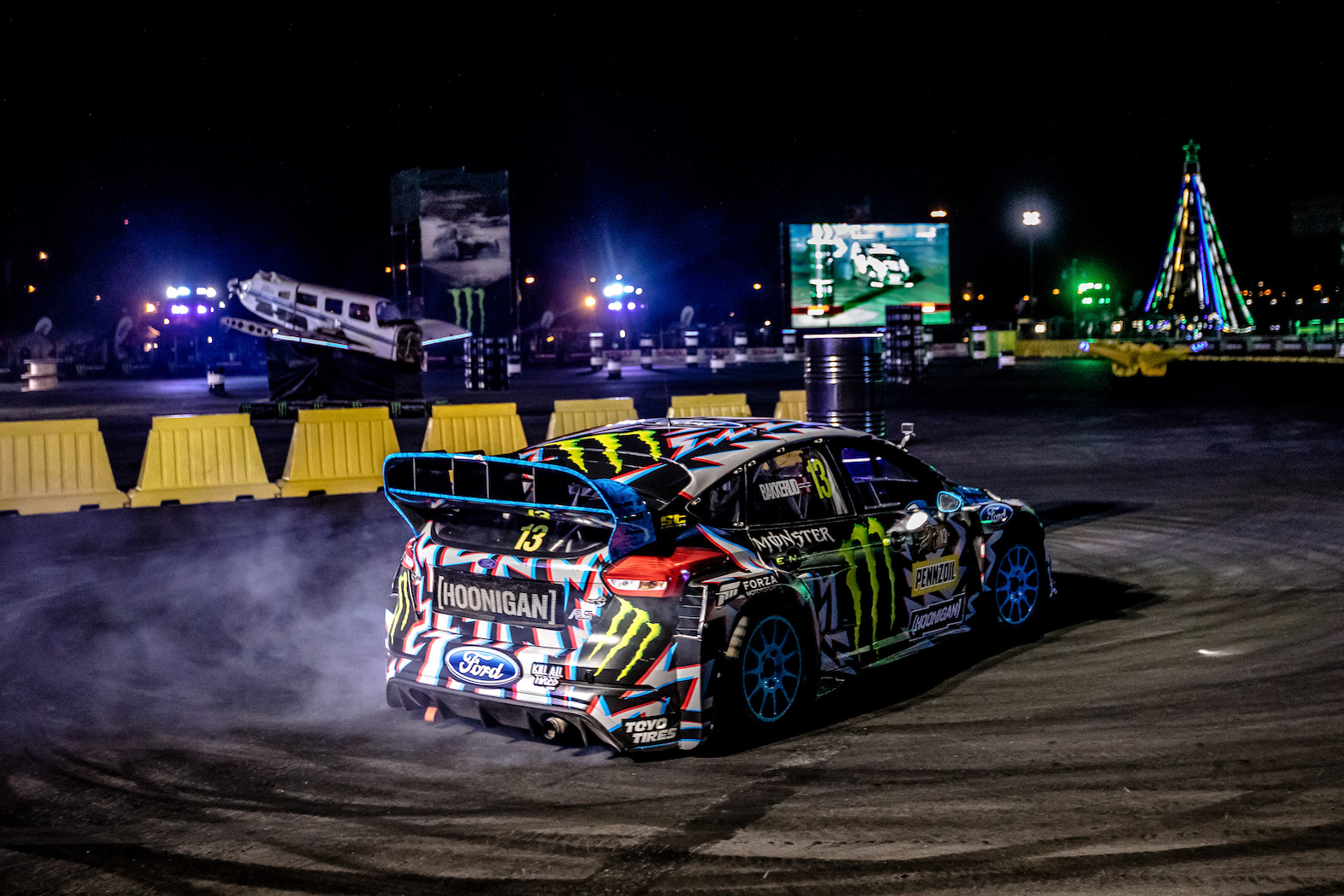 Andreas Bakkerud places 3rd at Gymkhana Grid 2017