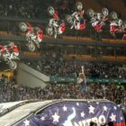 Freestyle Motocross rider, Harry Bink wowing the crowds at Nitro Circus Live SA
