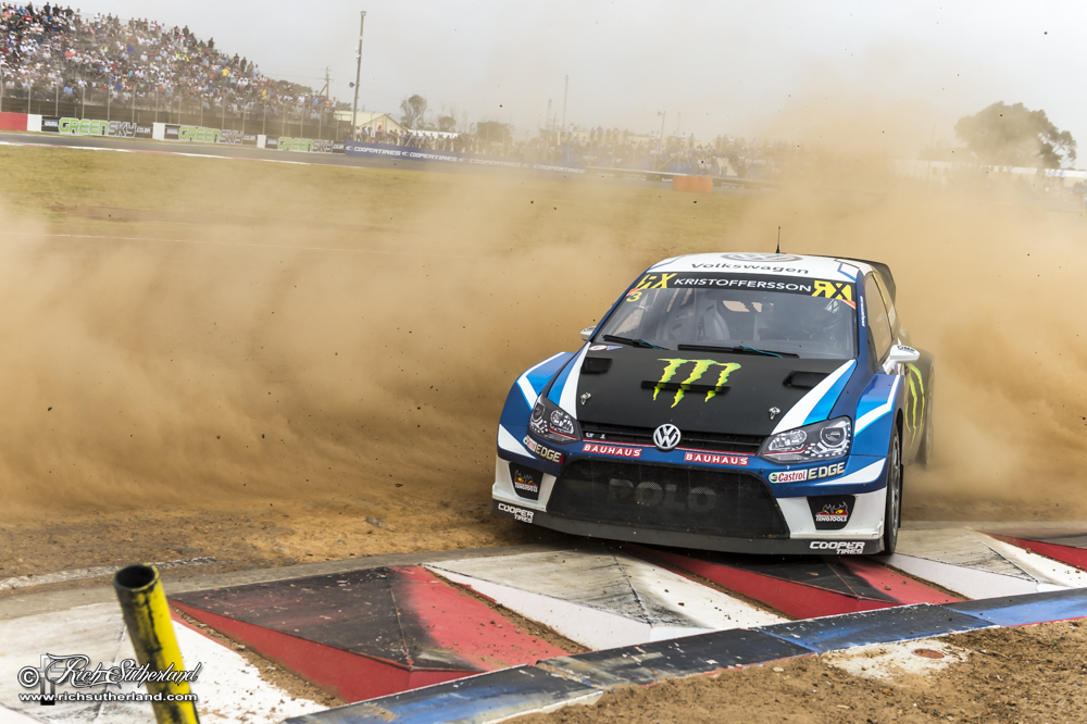 Johan Kristoffersson wins the FIA World Rallycross Championship #CapeTownRX