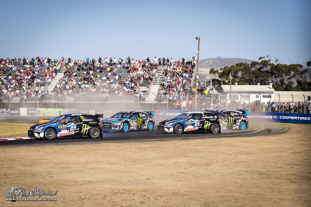 Rallycross action at its best at #CapeTownRX
