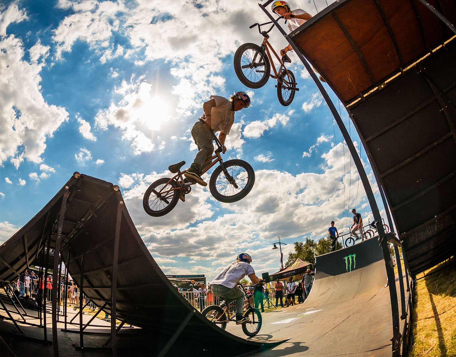 Murray Loubser in the Ramp Rodeo BMX finals