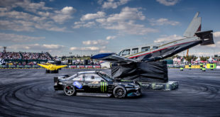 Gymkhana GRiD Smokes Up Carnival City