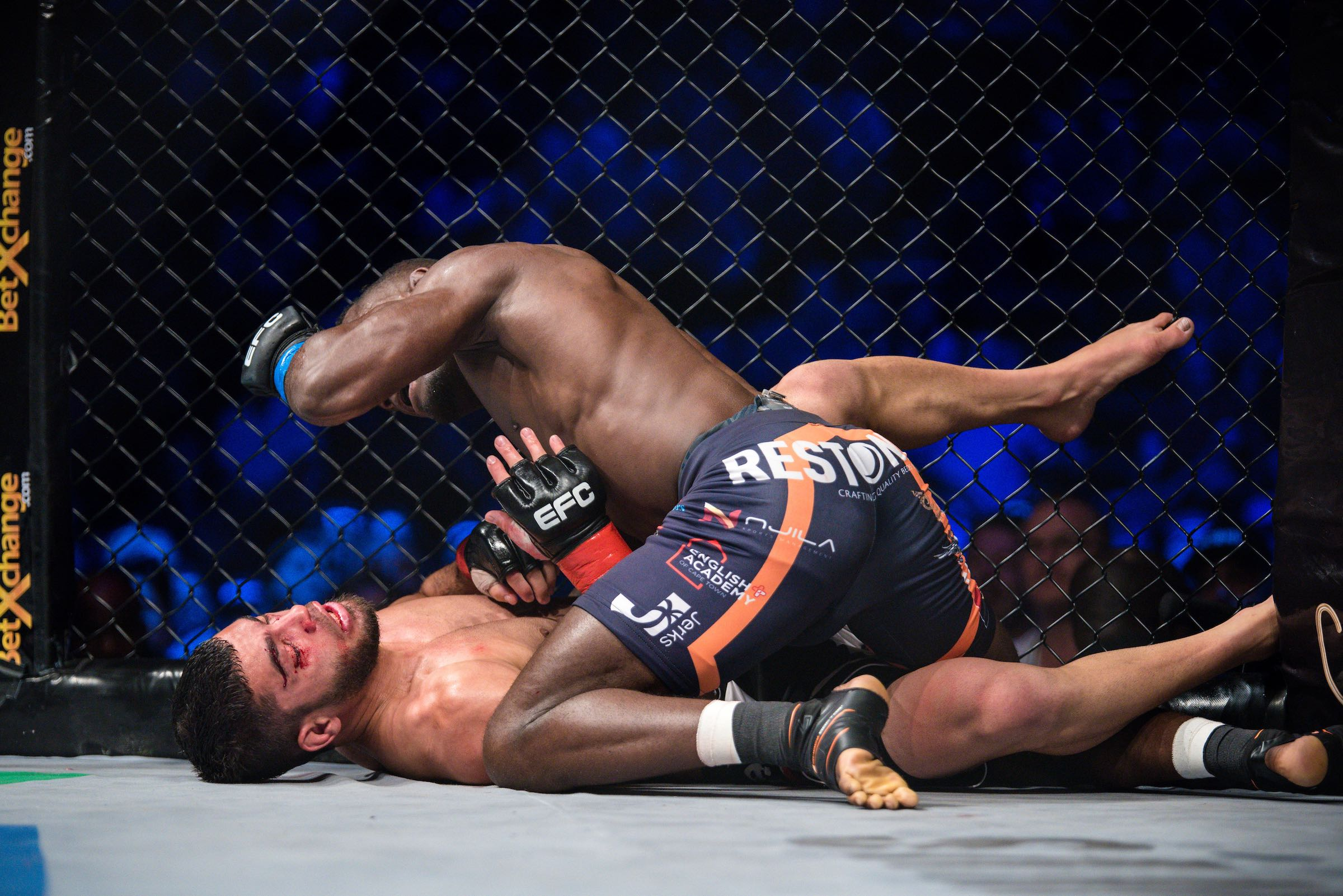 MMA action at its best at EFC 66 in Time Square, Pretoria