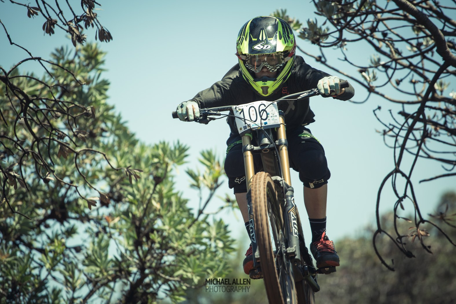 Downhill MTB at its best the the Dustin Rudman Invitational