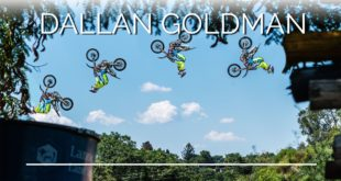 Freestyle Motocross rider, Dallan Goldman has kicked off 2018 with the Backflip securely under his belt. Watch his 2018 FMX edit here.