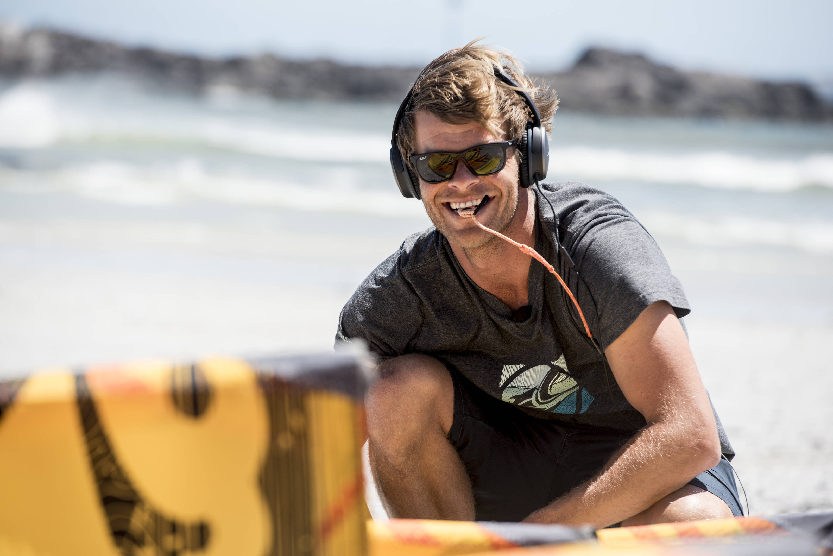 Nick Jacobsen will be back to defend his Kiteboarding title