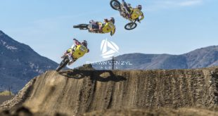 Watch Caleb Tennant smash out laps at Pala Raceway motocross track in California.