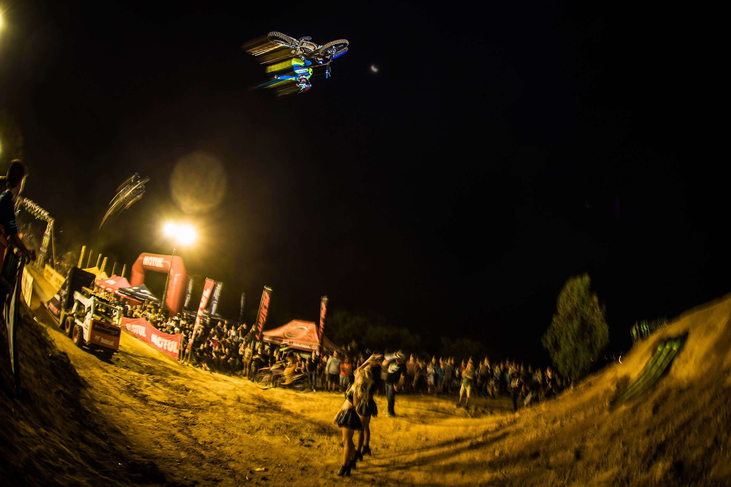 FMX rider Dallan Goldman is crowned King of the Whip 2018