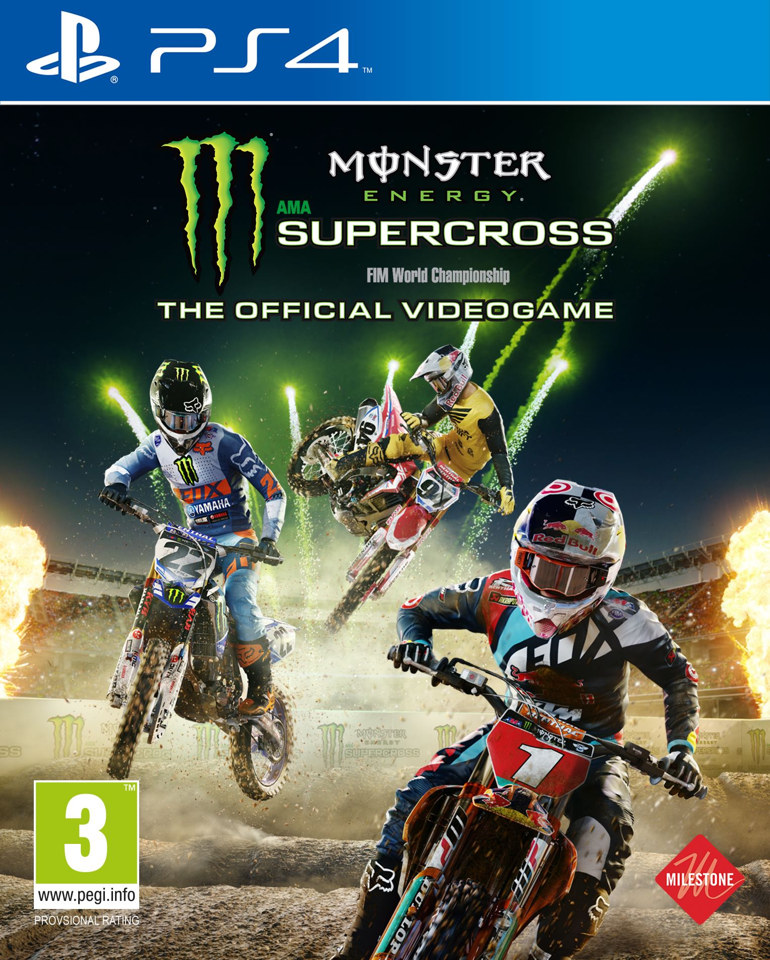 monster energy supercross the game review gaming lw mag. Black Bedroom Furniture Sets. Home Design Ideas
