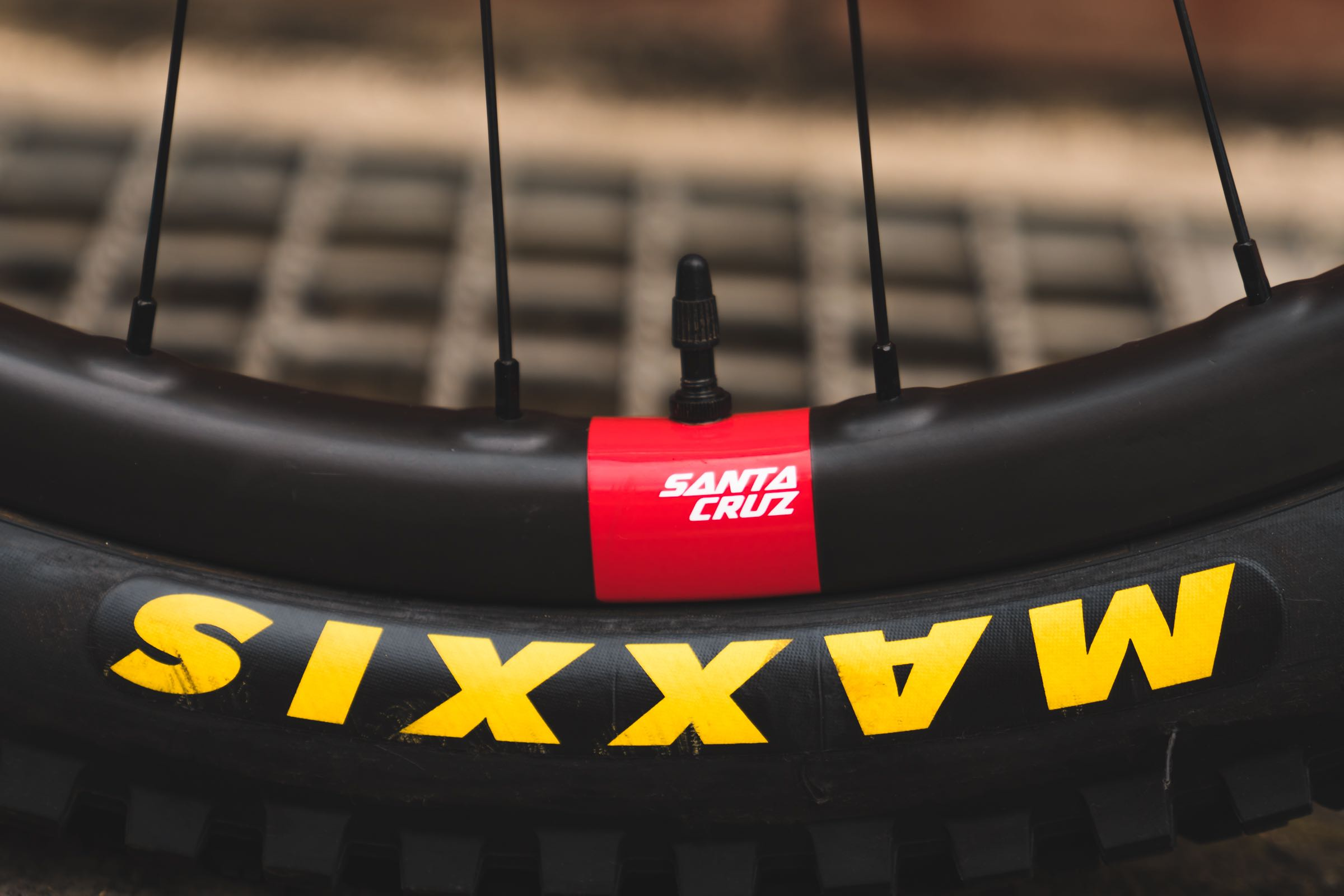 The new Santa Cruz Reserve 30 carbon rims