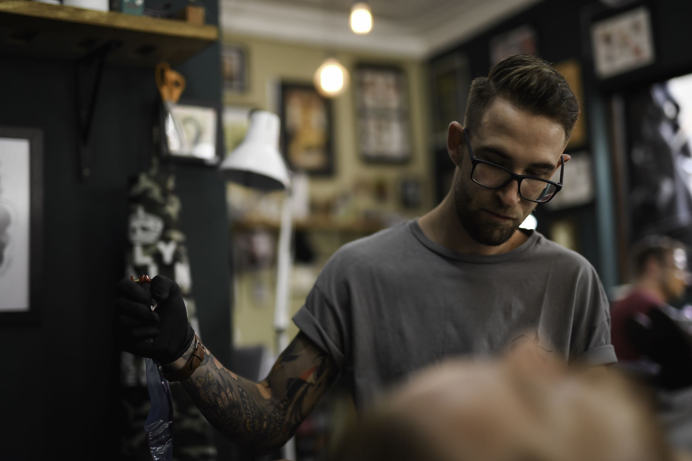 Meet our features Tattoo Artist Phillip Wells