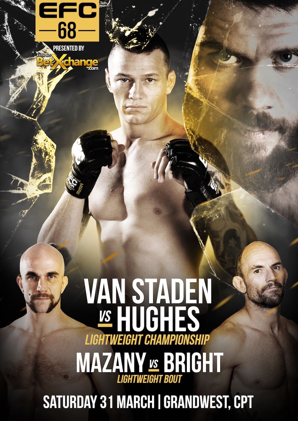 EFC 68 bringing MMA action to Cape Town at the GrandWest Casino