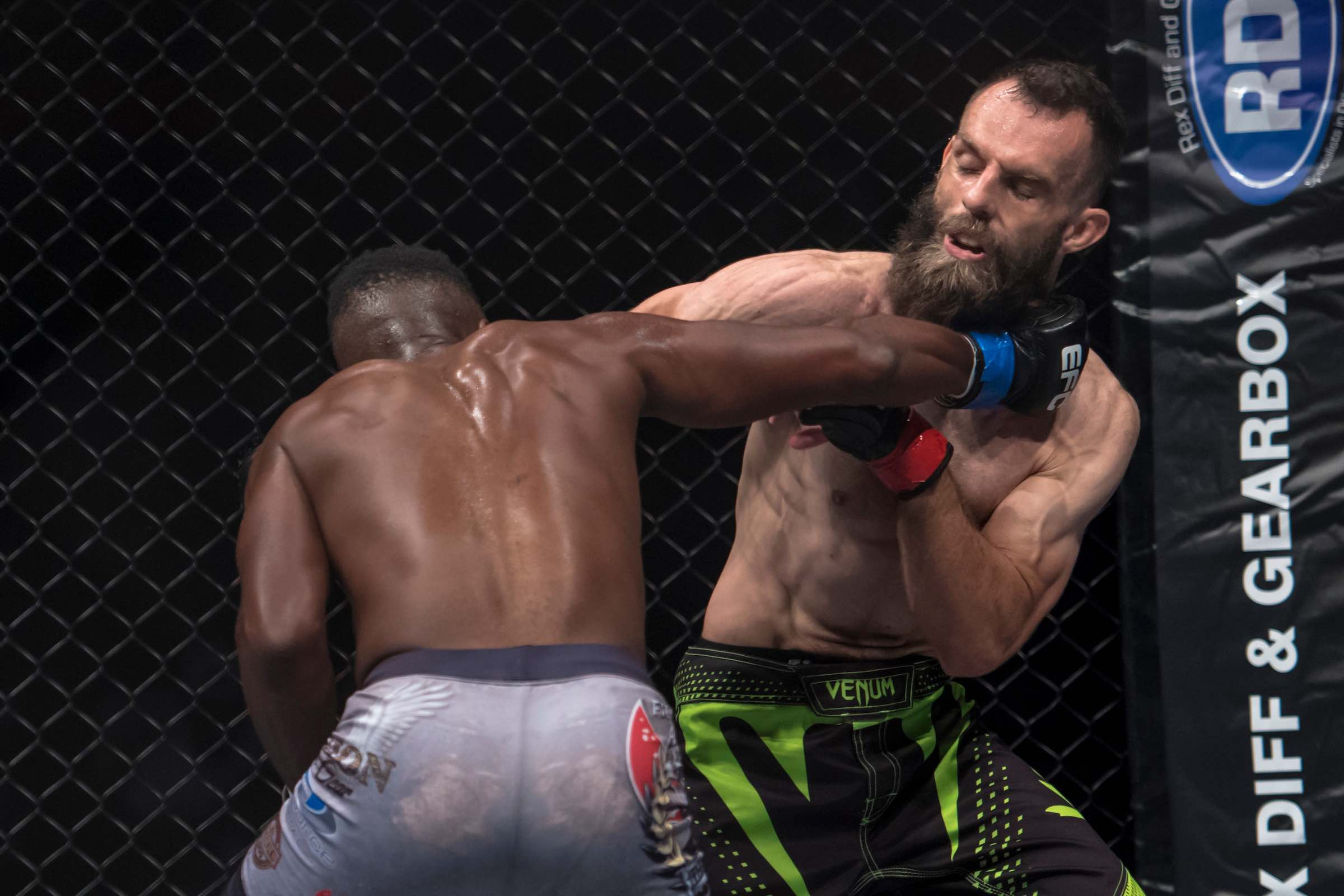 Mixed Martial Arts action at its best at EFC 67 from Carnival City