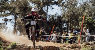 Aaron Gwin wins the 2018 Downhill MTB World Cup in Losinj, Croatia