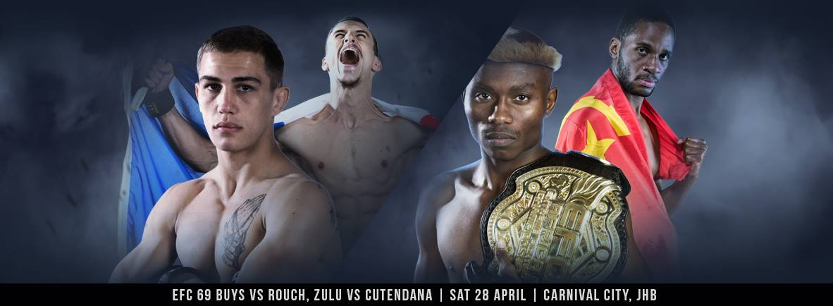 EFC 69 bringing 10 exciting MMA fight to carnival City in Johannesburg