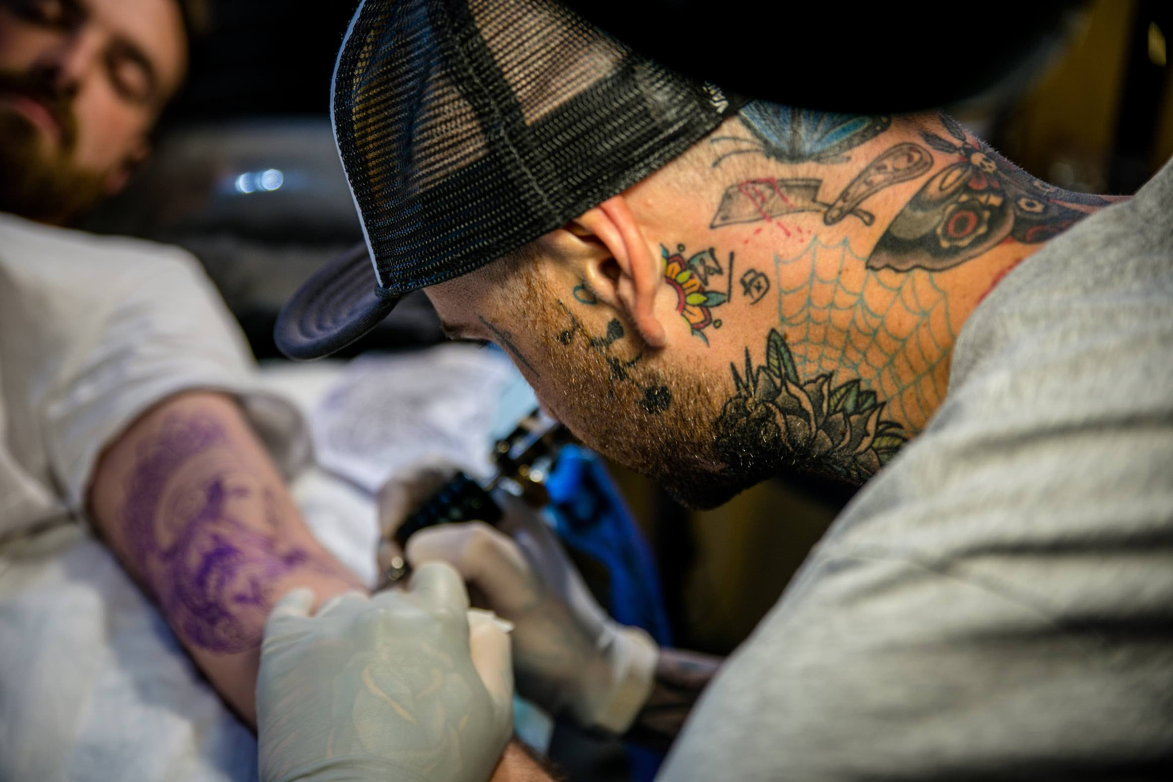 Our Tattoo Artist features with Duran Niemach
