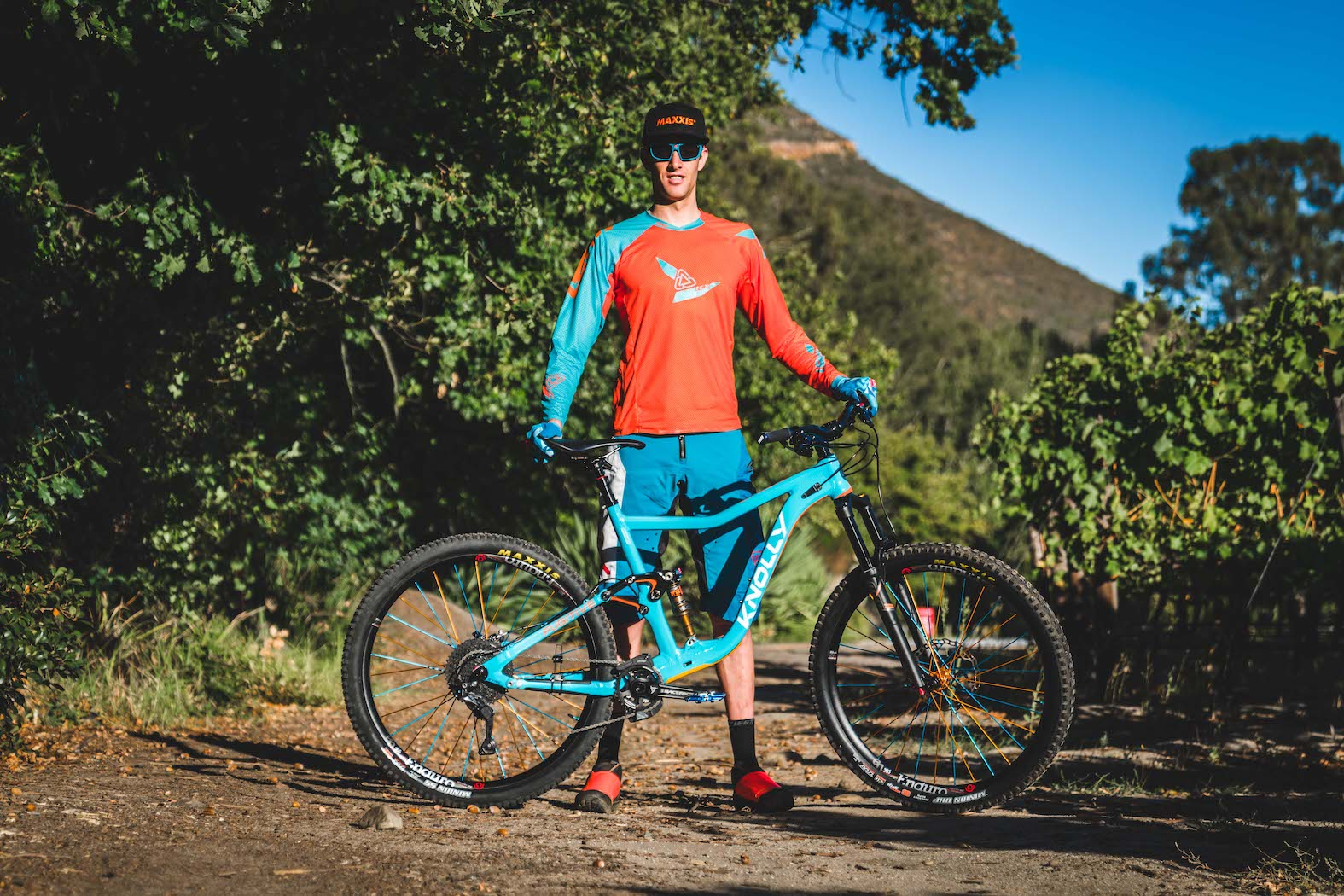 Martin Zietsman with his 2018 Pre-Production Knolly Fugitive