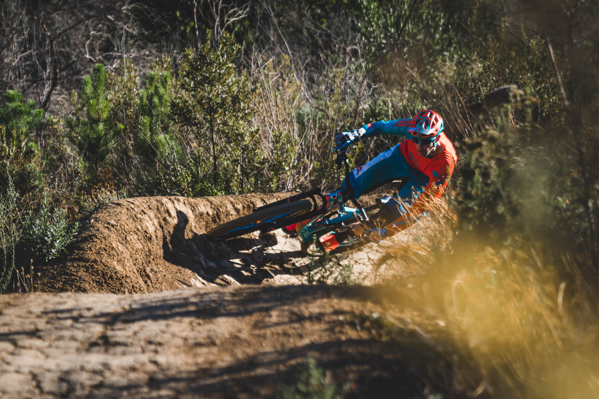 Interview with Enduro Mountain Bike rider Martin Zietsman about his new Knolly Fugitive