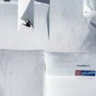 Andri Ragettli winning the Skier Big air at the 2018 Audi Nines