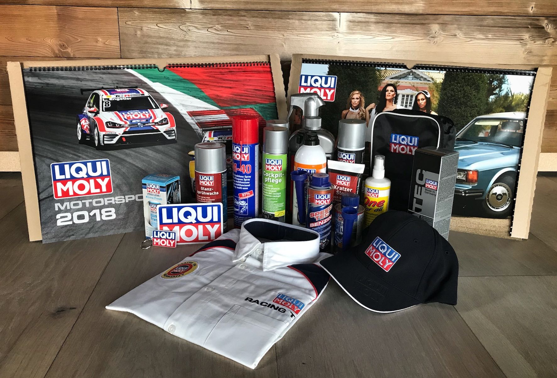 Stand a chance of winning this awesome LIQUI MOLY Calendar