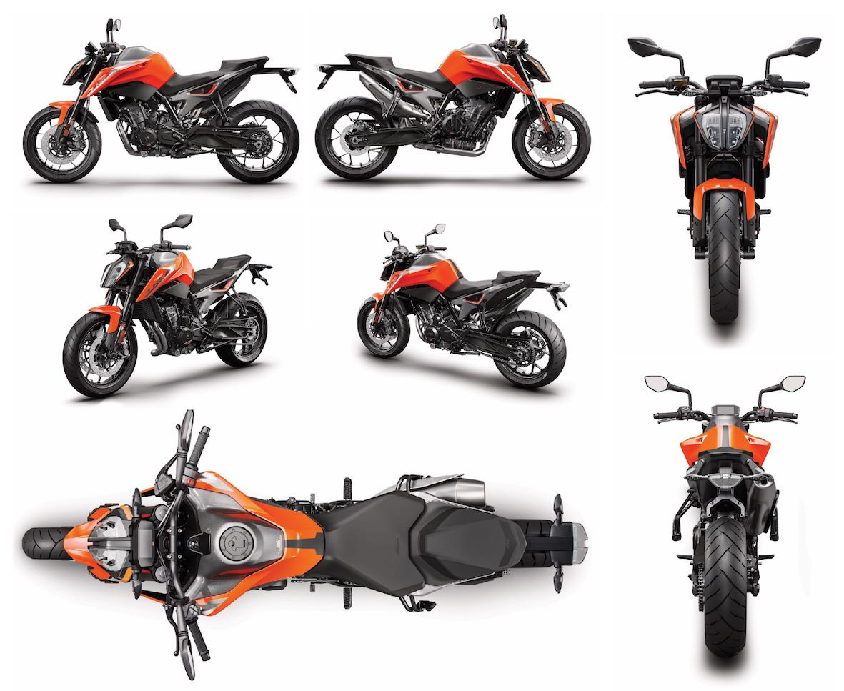Meet the KTM 790 Duke and all its angles
