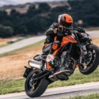 Test riding the new KTM 790 Duke now available in South Africa