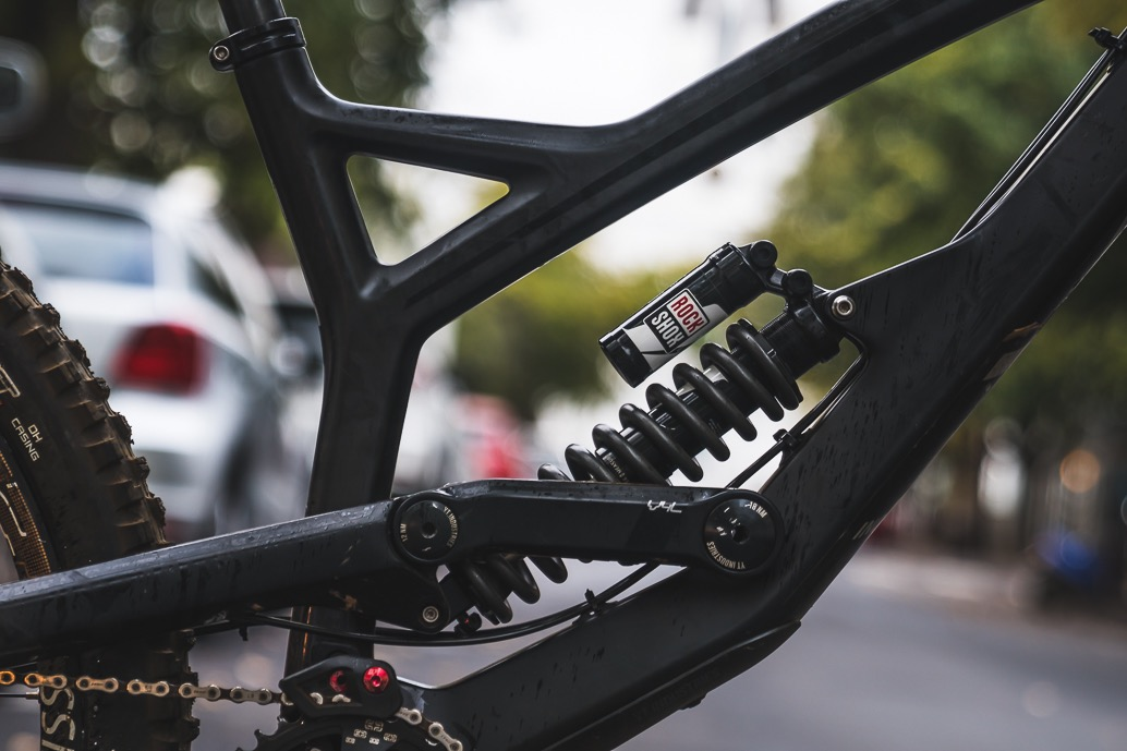 Theo Erlangsen's YT TUES Downhill Mountain Bike