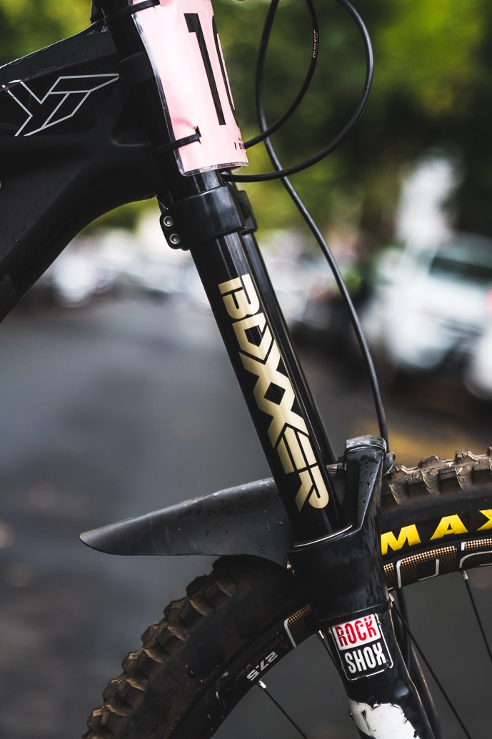 Theo Erlangsen's Championship Winning YT Industries TUES Bike Check - Forks