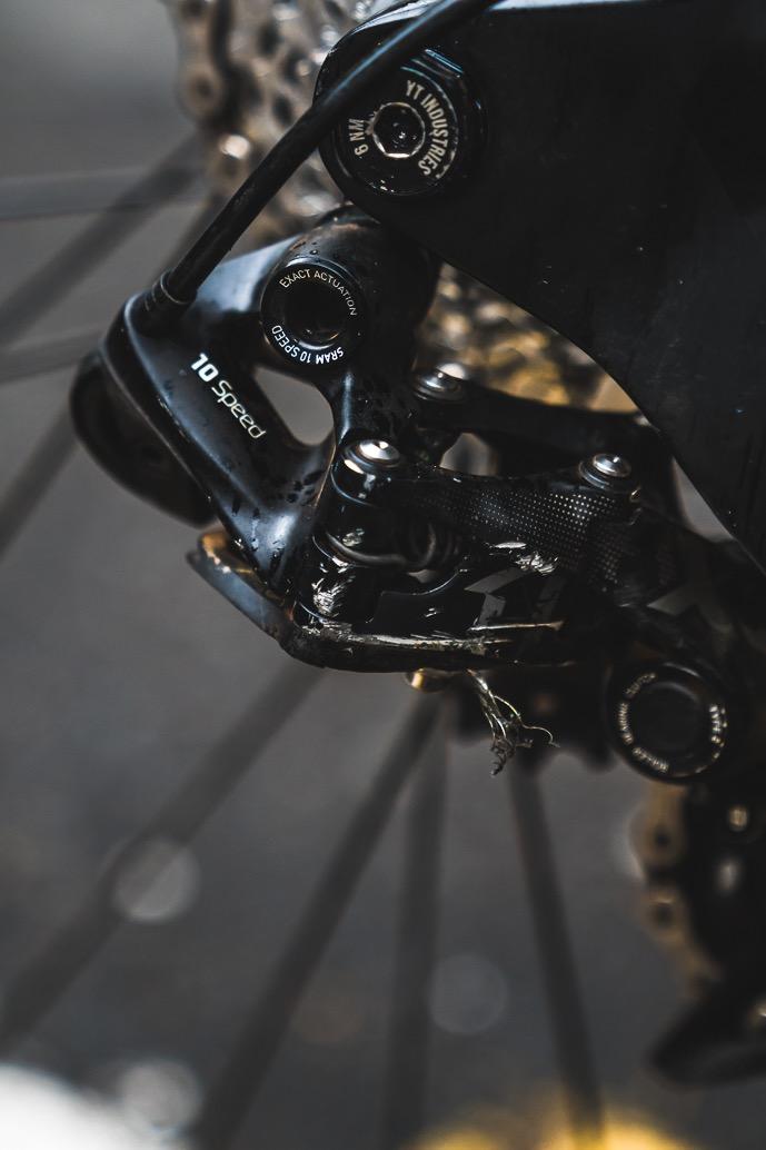 Theo Erlangsen's Championship Winning YT Industries TUES Bike Check - Drivetrain