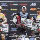 Round 3 of the MX Nationals MX1 podium