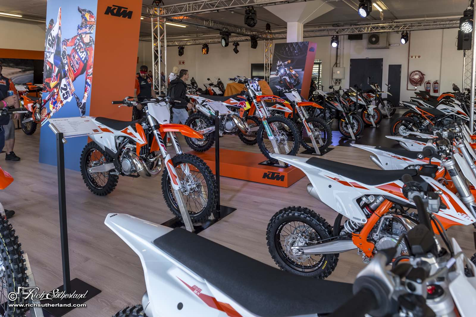 KTM representing at the 2018 South Africa Bike Festival