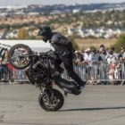 Superbike stunt rider, Julien Welsh back by popular demand.