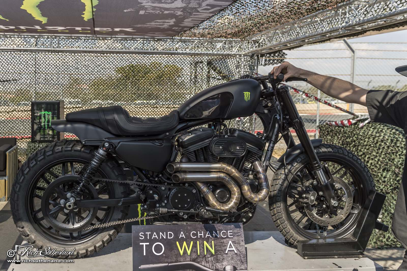 Monster Energy and Stoos customs bike giveaway