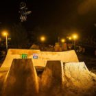 Leandro Olivera BMX style during The Night Harvest