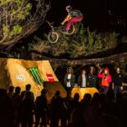 BMX action from the 2018 The Night Harvest dirt contest
