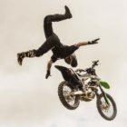 FMX ridere Brayden Davies performing at ULT.X 2018
