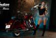 Meet the Indian Motorcycle Vixen, Kelly Roux