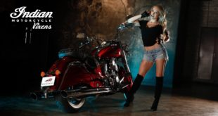 Meet the Indian Motorcycle Vixen, Kelly Roux