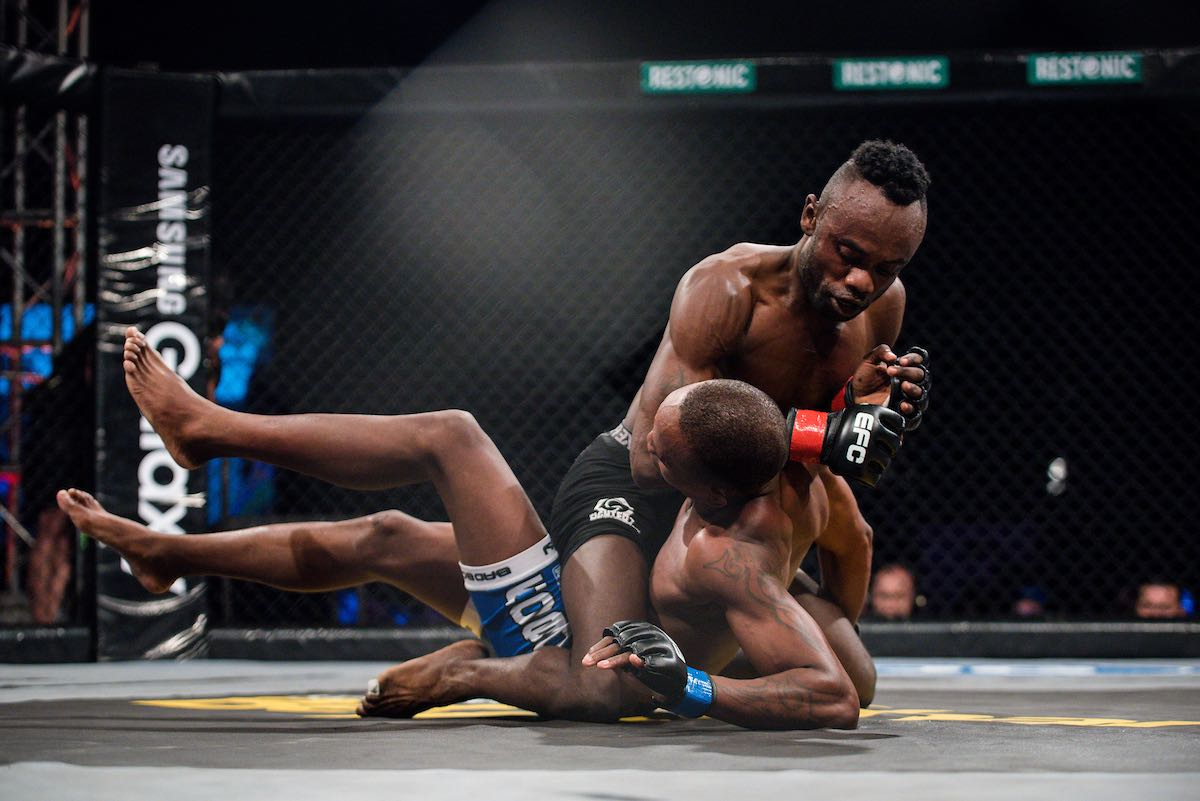 MMA action from EFC 70 in Durban