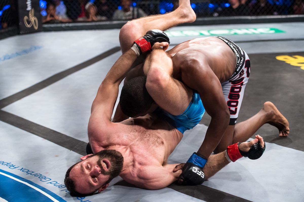 Mixed Martial Arts action from EFC 70 in Durban