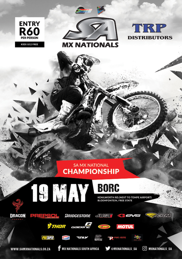 Round 3 of the 2018 TRP Distributors SA Motocross National Championship takes place in Bloemfontein