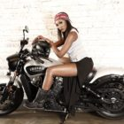 Interview with Indian Motorcycle Vixen, Mandy Kgobe