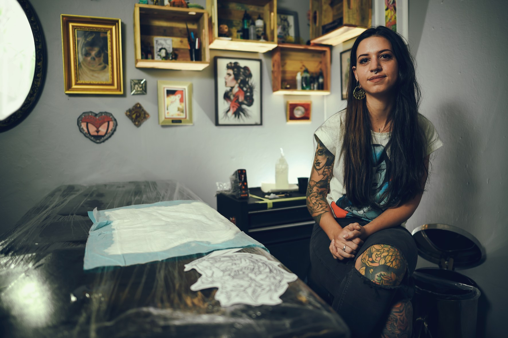Meet Rocio Todisco as our Featured Tattoo Artist of the Week