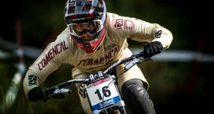 Amaury Pierron wins his first Downhill MTB world cup at the 2018 Fort William race