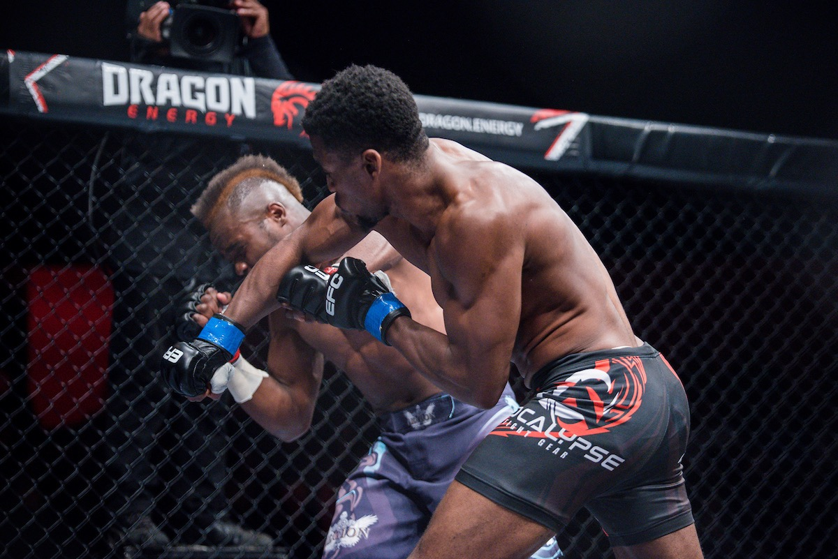 Results from all 12 MMA fights from EFC 71