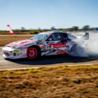 Drifting action from round 2 of the 2018 SupaDrift Series